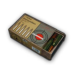 Battlegrounds 7.62mm ammo