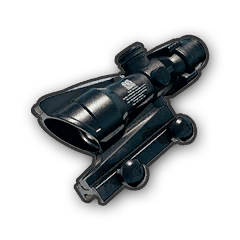 Battlegrounds 4x ACOG scope