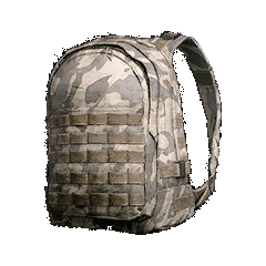 Battlegrounds backpack level 3