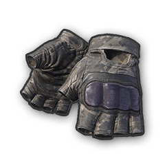 Battlegrounds Fingerless Gloves Camo