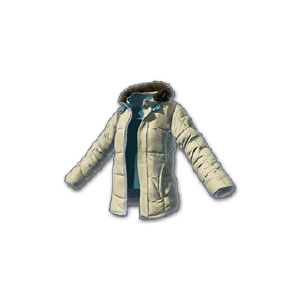 Battlegrounds padded jacket beige