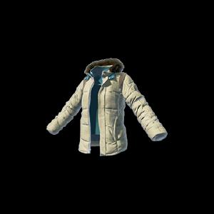 Battlegrounds Playerunknown Padded Jacket Beige