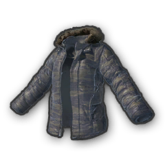 Battlegrounds padded jacket camo