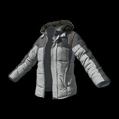 Battlegrounds padded jacket grey
