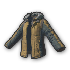 Battlegrounds padded jacket khaki
