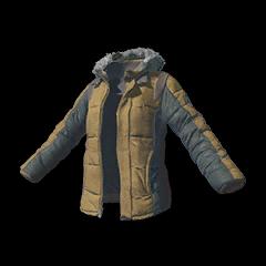 Battlegrounds Playerunknown Padded Jacket khaki