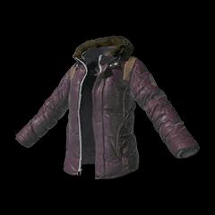 Battlegrounds padded jacket purple