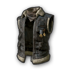 Battlegrounds Sleeveless Biker Jacket