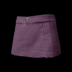 Battlegrounds Mini skirt purple