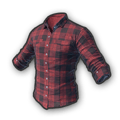 Battlegrounds Checkered shirt red