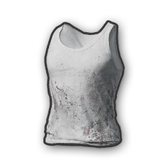 Battlegrounds Dirty tanktop white