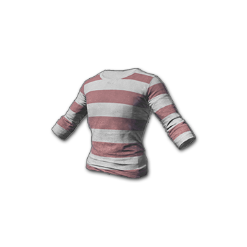 Battlegrounds Long sleeved shirt striped
