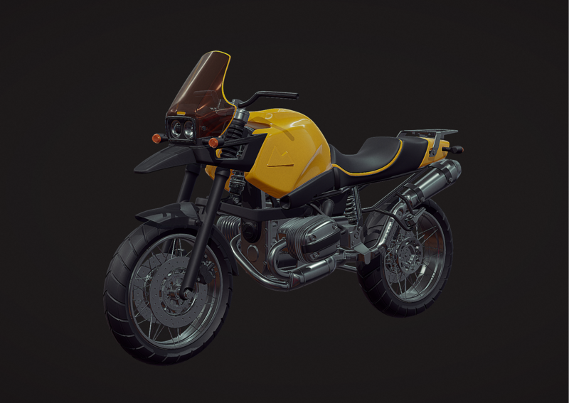 PUBGloot Motorcycle